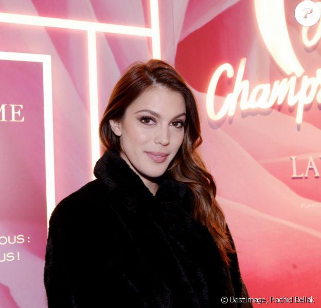 Exclusif - Iris Mittenaere (Miss France et Miss Univers 2016) - Inauguration de la boutique Lancôme 52 Champs-Elysées à Paris le 4 décembre 2019. © Rachid Bellak/Bestimage
