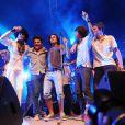 Boney M s'est produit sur la scène de Brive Plage à Brive la Gaillarde (31 juillet 2009)