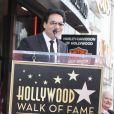 Le chanteur arméno-iranien Andy Madadian lors de l'inauguration de son étoile sur le Walk Of Fame à Los Angeles, le 17 janvier 2020
