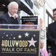 Miles Copeland III, Andy Andranik Madadian - Le chanteur arméno-iranien Andy Madadian lors de l'inauguration de son étoile sur le Walk Of Fame à Los Angeles. Le 17 janvier 2020