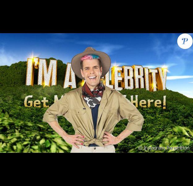 """Perez Hilton dans l'émission """"I'm A Celebrity... Get Me Out Of Here"""""""