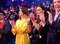 Pauline Ducruet époustouflante en jaune pour une soirée cirque en famille