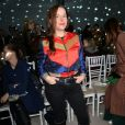 """Laure Calamy assiste au défilé de mode Haute-Couture printemps-été 2020 """"Alexis Mabille"""" à Paris. Le 21 janvier 2020 © Veeren Ramsamy-Christophe Clovis / Bestimage"""