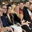 """Dita Von Teese assiste au défilé de mode Haute-Couture printemps-été 2020 """"Alexis Mabille"""" à Paris. Le 21 janvier 2020."""