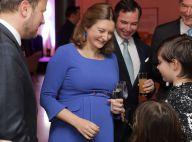 Stéphanie de Luxembourg, enceinte : Radieuse pour une soirée d'anniversaire