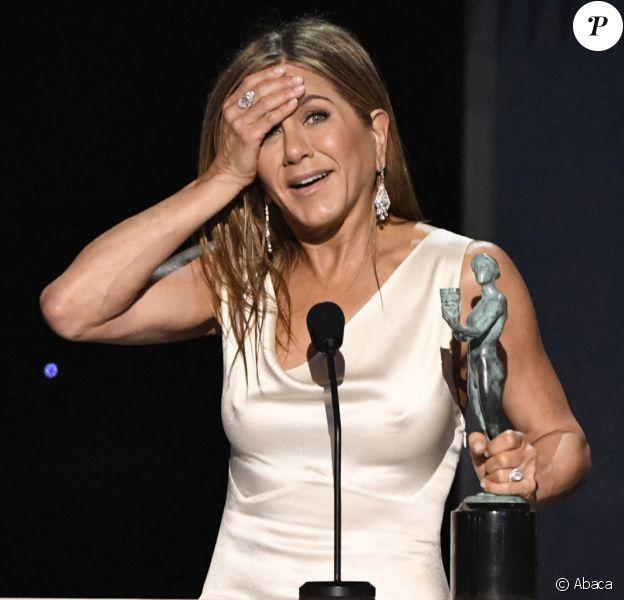 Jennifer Aniston lors de la cérémonie des SAG Awards à Los Angeles le 19 janvier 2020