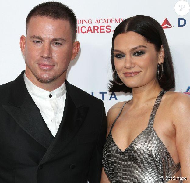 Channing Tatum et sa compagne Jessie J au MusiCares Person of the Year Award en l'honneur du groupe Aerosmith au Convention Center à Los Angeles, le 24 janvier 2020