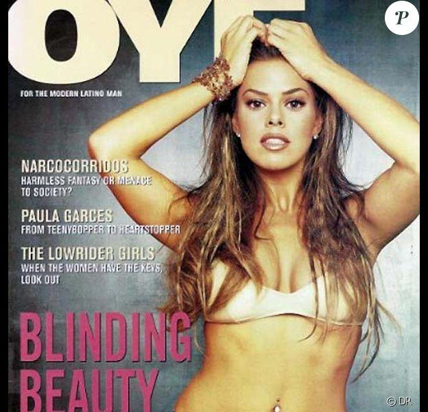La belle Rosa Blasi en couverture de Oye !