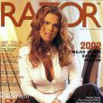 La belle Rosa Blasi en couverture de Razor !