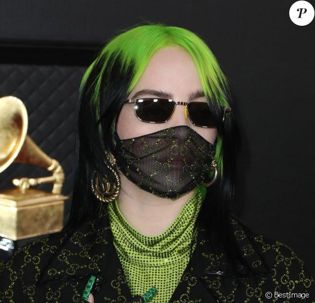 Billie Eilish - 62ème soirée annuelle des Grammy Awards à Los Angeles, le 26 janvier 2020.