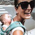 Kelly Bochenko avec ses enfants sur Instagram -  26 janvier 2020