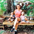 Kelly Bochenko avec ses enfants sur Instagram - 21 janvier 2020