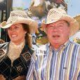 """William Shatner et sa femme - Première du film """"Over the Hedge"""" au Mann Village Theater de Los Angeles. Le 30 avril 2006."""