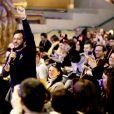 Claudio Capéo - Disneyland Paris a accueilli 300 enfants hospitalisés avec la Fondation Hôpitaux de Paris – Hôpitaux de France à Marne-la-Vallée, France, le 29 janvier 2020. © Dominique Jacovides/Bestimage
