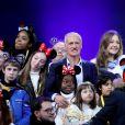 Didier Deschamps, parrain de l'Opération Pièces Jaunes 2020 - Disneyland Paris a accueilli 300 enfants hospitalisés avec la Fondation Hôpitaux de Paris – Hôpitaux de France à Marne-la-Vallée, France, le 29 janvier 2020. © Dominique Jacovides/Bestimage