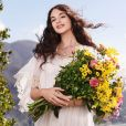 """Deva Cassel, la fille de Monica Bellucci et Vincent Cassel, est l'égérie du parfum """"Dolce Shine"""" de Dolce & Gabbana. Janvier 2020."""