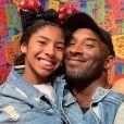 Kobe Bryant avec sa fille Gianna, le 3 septembre 2019.