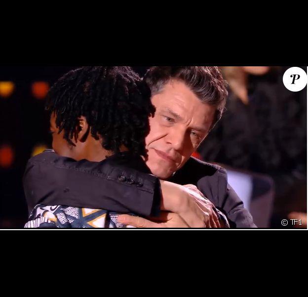 """Marc Lavoine et Ifè - Talent séléctionné lors des auditions à l'aveugle de """"The Voice"""" - Extrait de l'émission diffusée samedi 1er février 2020, TF1"""