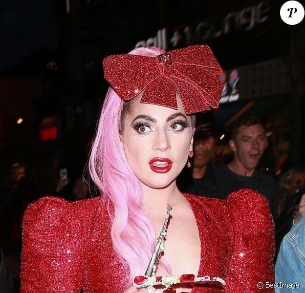 Lady Gaga arrive à l'évènement éphémère Haus Labs Makeup à The Grove, Los Angeles, le 5 décembre 2019