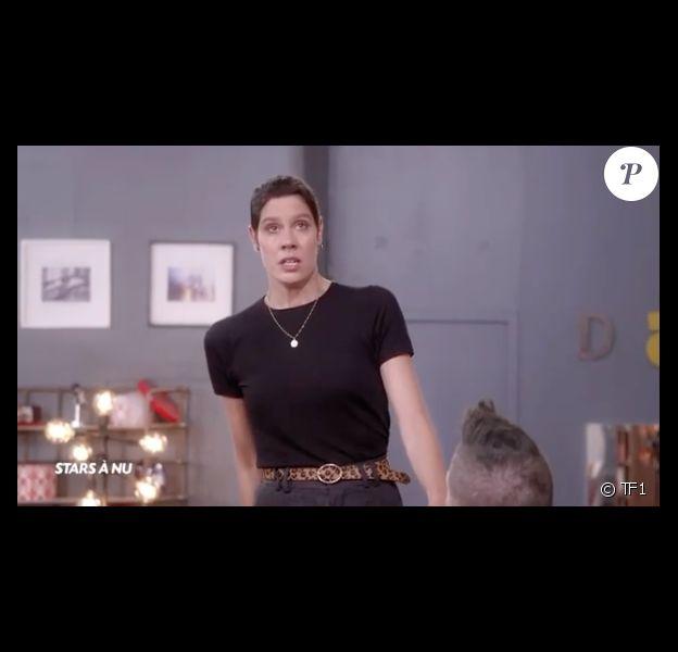 """Fanny Leeb dans """"Stars à nu"""", le 7 février 2020 sur TF1."""