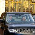 La princesse Beatrice, duchesse d'York - Les membres de la famille royale arrivent au déjeuner de Noël au palais de Buckingham à Londres le 18 décembre 2019.