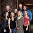 "Sarah Michelle Gellar, Alyson Hannigan, Nicholas Brendon, Anthony Stewart Head, Amber Benson, Emma Caulfied, James Marsters et Michelle Trachtenberg - Le casting de ""Buffy contre les vampires"" en 2000."