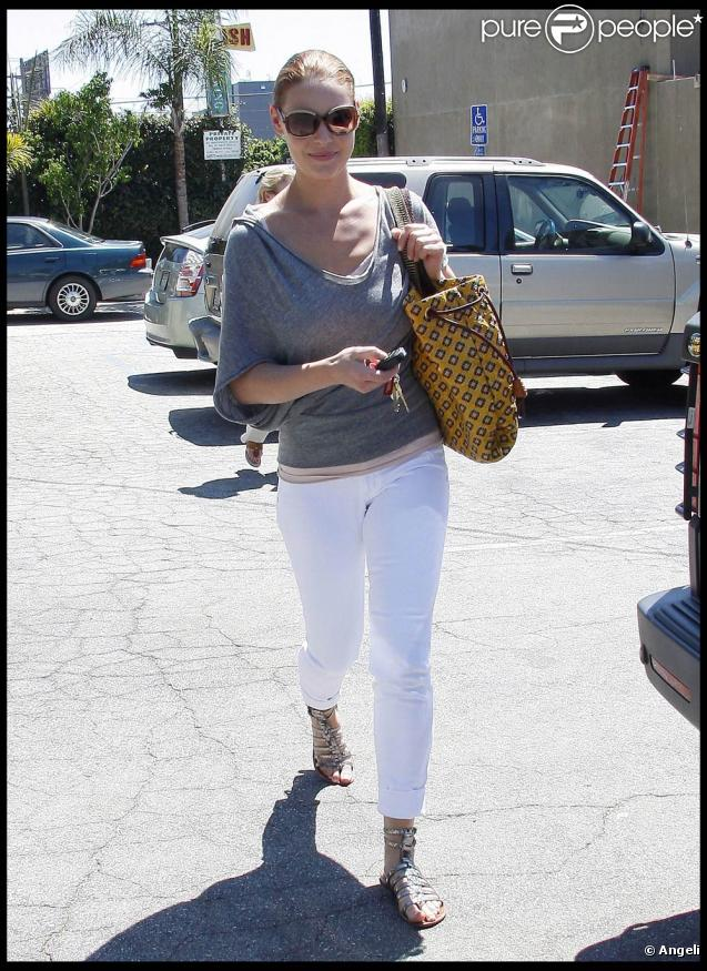 Katherine Heigl à Los Angeles (6 août 2009)