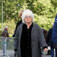 Catherine Lara - Obsèques de Maurane en l'église Notre-Dame des Grâces à Woluwe-Saint-Pierre en Belgique le 17 mai 2018.17/05/2018 - Woluwe-Saint-Pierre