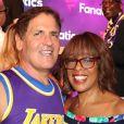 Mark Cuban, Gayle King - Soirée Michael Rubin's Fanatics Super Bowl Party au Loews Miami Beach Hotel à Miami le 1er février 2020.