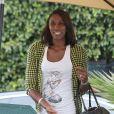 Lisa Leslie - Arrivées people à une fête privée à Beverly Hills, le 20 Septembre 2013