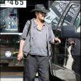 Patrick Swayze à Los Angeles (fin juillet 2009)