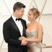 Scarlett Johansson aux Oscars : regards amoureux à Colin et bijoux hors de prix