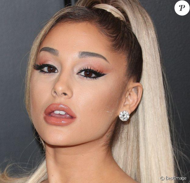 Ariana Grande - 62e soirée annuelle des Grammy Awards à Los Angeles, le 26 janvier 2020.