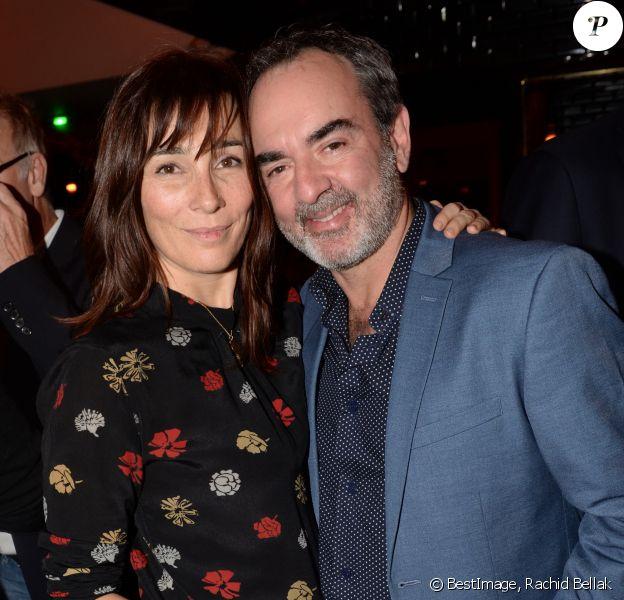 Exclusif - Bruno Solo et sa femme Véronique - 40e anniversaire de Arnaud Ducret à la Gioia à Paris le 9 décembre 2018 © Rachid Bellak/Bestimage