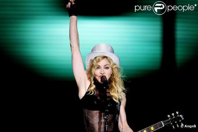 Madonna en plein show