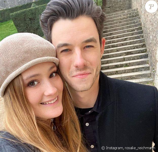 Rosalie Reichmann pose avec son chéri sur Instagram, le 14 février 2020.