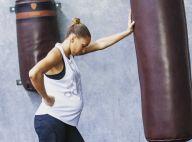 Estelle Mossely enceinte : ventre très arrondi, elle s'impatiente !