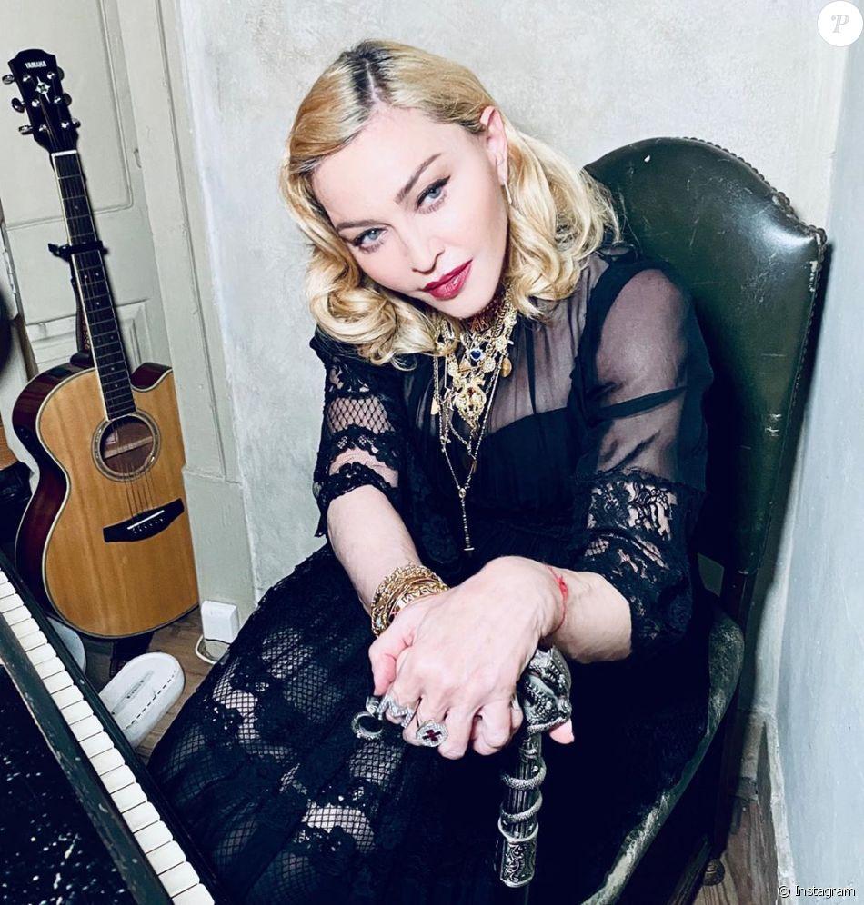 Madonna sur Instagram le 25 janvier 2020. - Purepeople