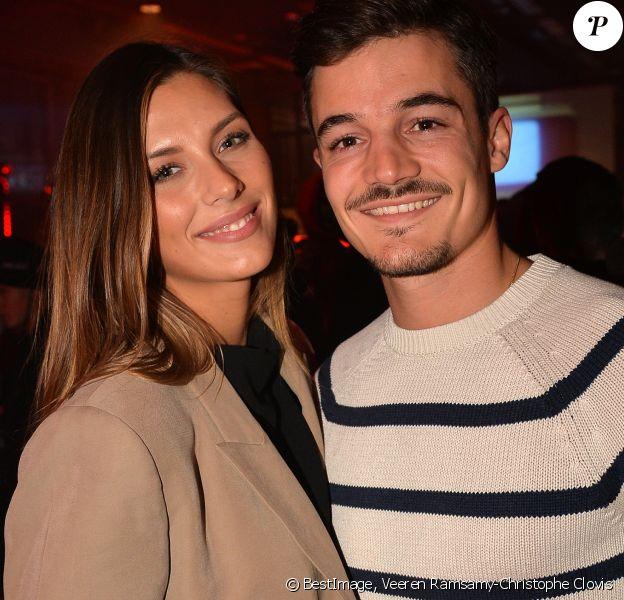 Camille Cerf et son compagnon Cyrille Roty - Soirée de lancement BoohooMan x Dadju à Paris, le 29 octobre 2019. © Veeren Ramsamy-Christophe Clovis/Bestimage29/10/2019 - Paris