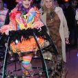 Fiona Gélin - Marcel Campion fête son 80ème anniversaire au cirque d'hiver à Paris le 17 février 2020. © Coadic Guirec- Rachid Bellak/Bestimage