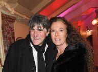 Tex et sa femme Béatrice radieux pour les 80 ans de Marcel Campion