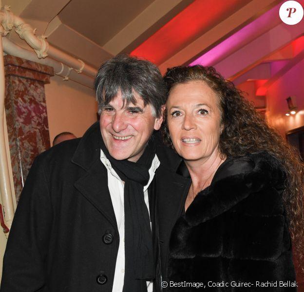 Tex et sa femme Béatrice - Marcel Campion fête son 80ème anniversaire au cirque d'hiver à Paris le 17 février 2020. © Coadic Guirec- Rachid Bellak/Bestimage