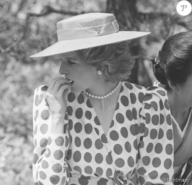 Diana et Charles en voyage au Japon en 1986.