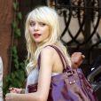 Taylor Momsen sur le tournage de Gossip Girl