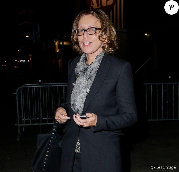 Exclusif - Pascale Clark - Arrivées des people à la soirée des 30 ans de Canal + au Palais des Sports à Paris le 31 octobre 2014.