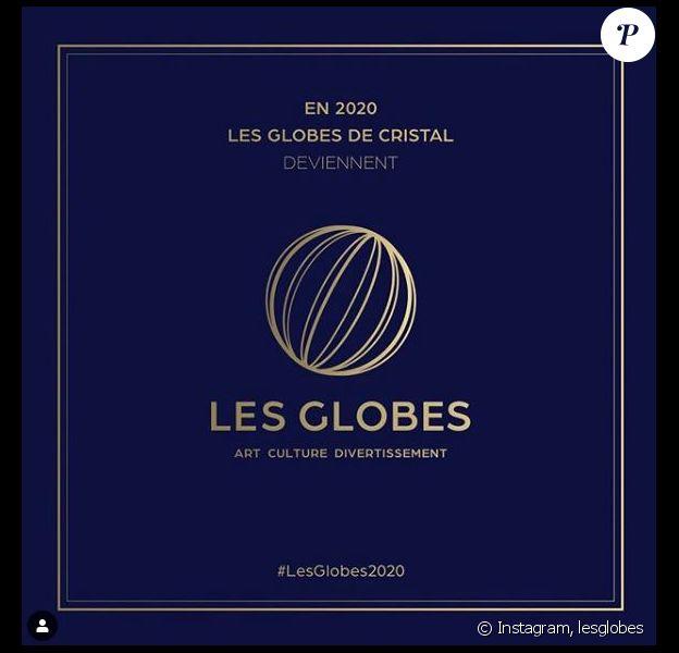 Les Globes de Cristal ont changé de nom en 2020 pour devenir simplament Les Globes.