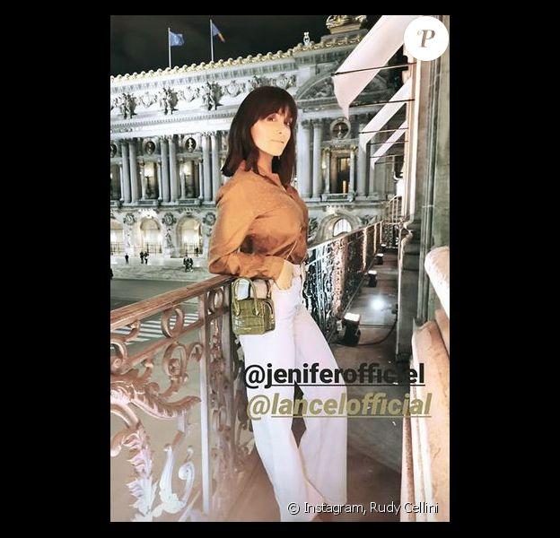 Jenifer assiste au cocktail de présentation de la nouvelle collection Lancel à Paris le 26 février 2019.