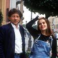 Emmanuelle Seigner et Roman Polanski en 1992.