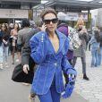 Virginie Ledoyen - Sorties du défilé de mode prêt-à-porter automne-hiver 2020/2021 Balmain à Paris le 28 février 2020.