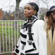 Janelle Monáe - Sorties du défilé de mode prêt-à-porter automne-hiver 2020/2021 Balmain à Paris le 28 février 2020.